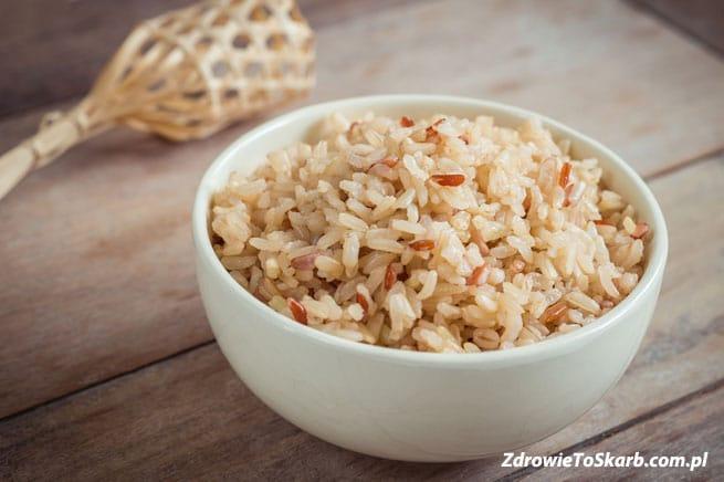 Czy można schudnąć jedząc ryż brązowt